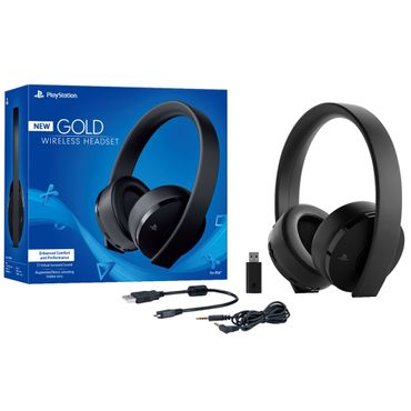 gold-headset